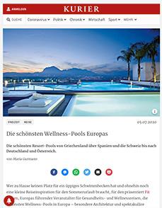 Die schönsten Wellness-Pools Europas