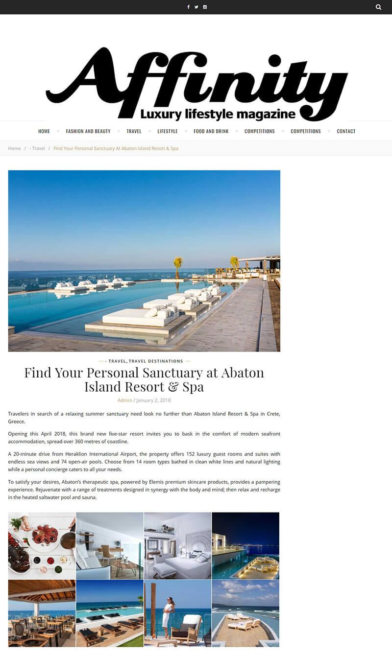 Find Your Personal Sanctuary at Abaton Island Resort & Spa