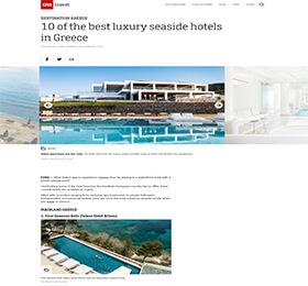 10 of the best luxury seaside hotels in Greece