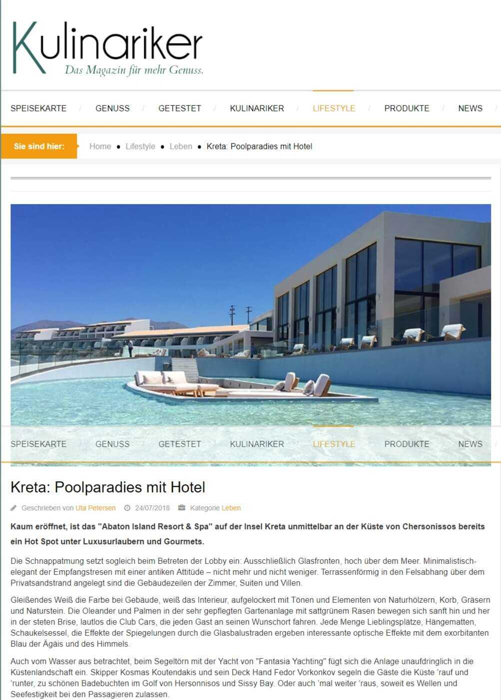 Crete: Pool paradise with hotel