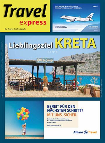 TravelExpress, the leading Austrian travel trade magazine about Abaton